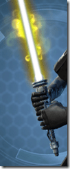 Tythonian Force-Master's Lightsaber Close