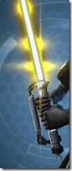 Volatile Conqueror's Lightsaber Close