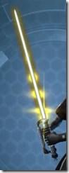 Volatile Conqueror's Lightsaber