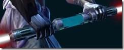 War Hero Stalker's Double-Bladed Lightsaber