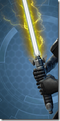 Ziost Guardian's Lightsaber Close