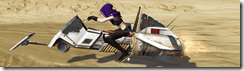 Custom-built Speeder Bike - Side