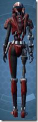 Series 505 Cybernetic - Female Back