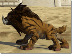 Desert Nekarr Cat - Side
