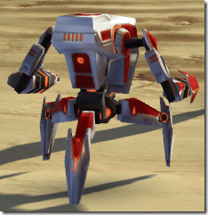 GS-1 Sentry Droid - Back