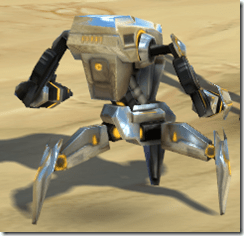 Micro-Defender Droid - Back