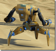 Micro-Patroller Droid - Back