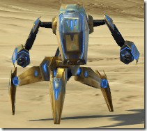 Micro-Patroller Droid - Front