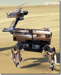 Miniature Isotope-5 Droid - Side