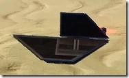 Model Dominion Starfighter - Side