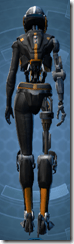 Series 512 Cybernetic - Female Back