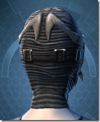 Trophy Hunter's Mask - Female Back