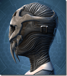 Trophy Hunter's Mask - Female Left
