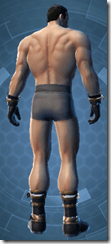 Dark Jedi - Male Back