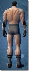 Enlightened Jedi - Male Back