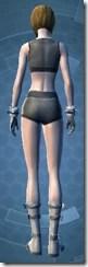 Warrior Captain - Female Back