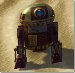 D5-2D Astromech Droid - Front