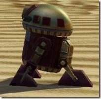 D5-2D Astromech Droid - Side