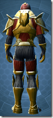 Dread Forged Hunter - Male Back
