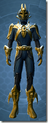 Dread Forged Consular - Male Front