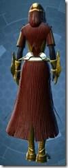 Dread Forged Warrior - Female Back