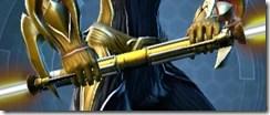 Dread Forged -- Saberstaff