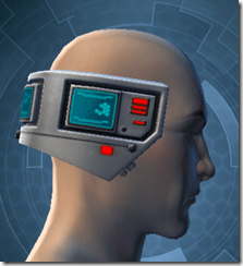 Cyborg Construct AM-7 - Male Right