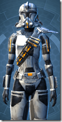 Energized Infantry - Female Close