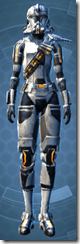 Energized Infantry - Female Front