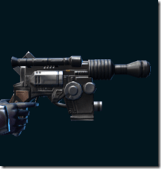Partisan Combat Medic's Blaster Pistol