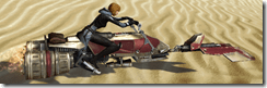 JA-3 Speeder - Clipping