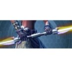Dark Primeval Seeker's Double-bladed Lightsaber*