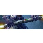Dark Venerable Seeker's Double-bladed Lightsaber*