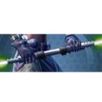 Principled Primeval Seeker's Double-bladed Lightsaber*