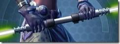 Principled Primeval Seeker's Double-bladed Lightsaber