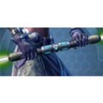 Sovran's Legion Double-Bladed Lightsaber*