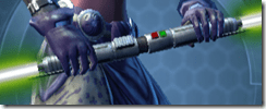 Sovran's Neophyte Double-bladed Lightsaber
