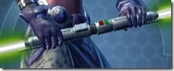 Sovran's Neophyte Double-bladed Lightsaber