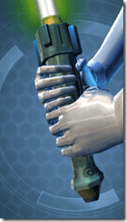 Noble Jedi Savant's Lightsaber
