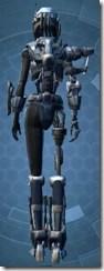 Series 917 Cybernetic - Female Back