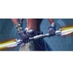 Dark Reverie Double-bladed Lightsaber*