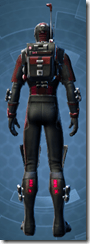 THORN Sanitization Armor - Male Back