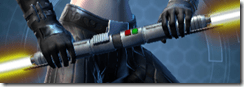 Dark Erudite Double-bladed Lightsaber