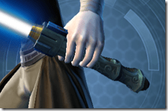 Primeval Ardent Blade's Lightsaber