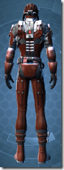 Imperial Battle Ace - Male Back
