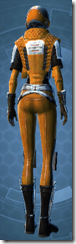 Republic Squadron Commander Pilot - Female Back