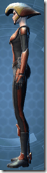 Vintage Republic Military Armor - Female Left