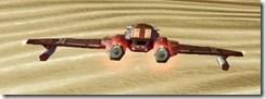 Model Redeemer Starfighter - Back
