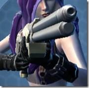 Interstellar Regulator's Blaster Rifle Aurek Front
