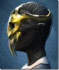 Glorious Charnel Mask - Female Left